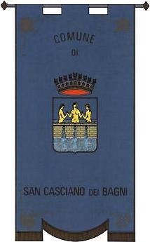 Stemma Comune di San Casciano dei Bagni