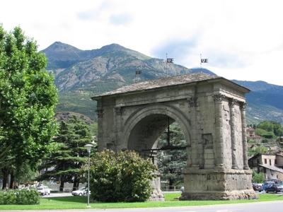 Foto Aosta: August Arch