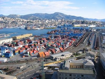 Foto Genova: Genoa's harbour