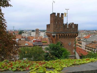 Foto Udine: Castle's foreshortening