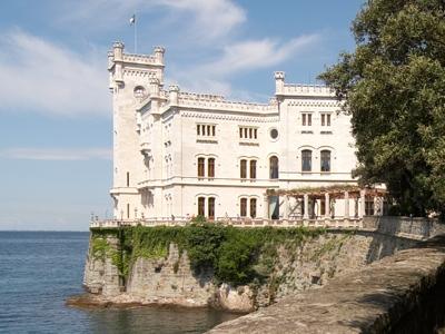 Trieste Castello di Miramare Foto Foto Trieste Castello di