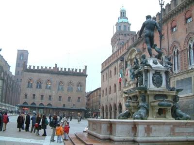 Foto Bologna: Neptune Square and Major Square