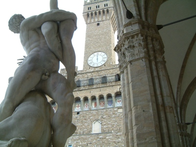 Foto Firenze: Signoria Square with Old Palace