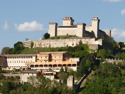 Foto Spoleto: Rocca Albornoziana (Cardinal Albornoz Fortress)